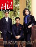 Farhan Akhtar, Imtiaz Ali, Karan Johar on the cover of Hi Blitz (India) - July 2011