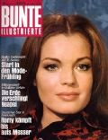 Romy Schneider on the cover of Bunte (Germany) - March 1970