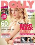 Taylor Swift on the cover of Dolly (Australia) - August 2011
