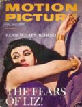 Elizabeth Taylor on the cover of Motion Picture (United States) - November 1962