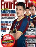 David Villa on the cover of Four Four Two (United Kingdom) - November 2010