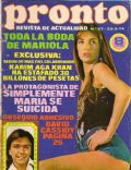 Pronto Magazine [Spain] (23 March 1974)