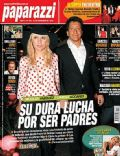 Gimena Accardi, Nicolas Vazquez on the cover of Paparazzi (Argentina) - November 2012