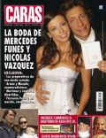 Mercedes Funes, Nicolas Vazquez, Nicolas Vazquez and Mercedes Funes on the cover of Caras (Argentina) - April 2006
