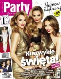 Edyta Herbus, Joanna Koroniewska, Malgorzata Socha on the cover of Party (Poland) - December 2013