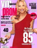 Leslie Bibb on the cover of Ym Prom (United States) - January 2001