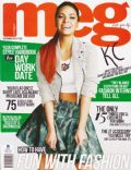KC Concepcion on the cover of Meg (Philippines) - September 2013