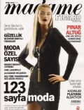 Pinar Altug on the cover of Madame Figaro (Turkey) - October 2006
