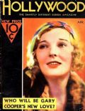 Dorothy Mackaill on the cover of Hollywood (United States) - April 1932