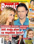 Malgorzata Rozenek, Radoslaw Majdan on the cover of Rewia (Poland) - February 2014