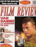 Jean-Claude Van Damme on the cover of Film Review (United Kingdom) - June 1993