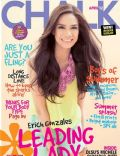 Erich Gonzales on the cover of Chalk (Philippines) - April 2012
