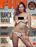 Bianca Manalo on the cover of Fhm (Philippines) - September 2010