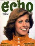 Echo De La Mode Magazine [France] (3 December 1971)