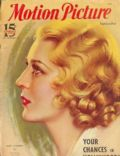 Mary Pickford on the cover of Motion Picture (United States) - September 1933