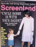 Jacqueline Kennedy on the cover of Screenland (United States) - September 1968