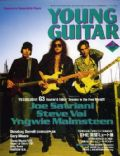 Joe Satriani, Steve Vai, Yngwie Malmsteen on the cover of Young Guitar (Japan) - March 2004