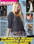 Carolina Oltra on the cover of Pronto (Argentina) - August 2011