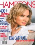 Kim Cattrall on the cover of Hamptons (United States) - July 2002
