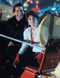 Steve Guttenberg and Julie Brown