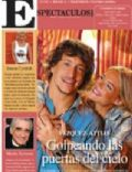 Emilia Attías, Nicolas Vazquez on the cover of Perfil (Argentina) - March 2008