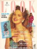 Andrea Del Boca on the cover of Look (Argentina) - February 1992