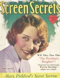 Norma Shearer on the cover of Screen Secrets (United States) - March 1928