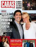 Duda Nagle, Junno Andrade, Lizandra Souto, Xuxa Meneghel on the cover of Caras (Brazil) - August 2013