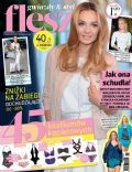 Malgorzata Socha on the cover of Flesz (Poland) - June 2014