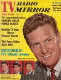 Robert Stack on the cover of TV Radio Mirror (United States) - February 1961