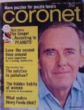 Henry Fonda on the cover of Coronet (United States) - May 1968