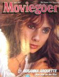 Rosanna Arquette on the cover of Moviegoer (United States) - April 1985