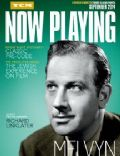 Melvyn Douglas on the cover of Now Playing (United States) - September 2014