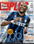 Samuel Eto`o on the cover of Pi Ka No Na Plus (Poland) - November 2010