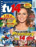 Natasza Urbanska on the cover of TV 14 (Poland) - August 2013