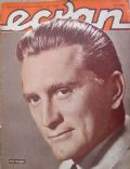 Kirk Douglas on the cover of Ecran (Chile) - October 1962