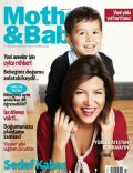 on the cover of Mother and Baby (Turkey) - December 2012