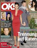 David Beckham, David Beckham and Victoria Beckham, Victoria Beckham on the cover of Ok (Germany) - May 2009