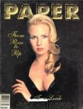 Traci Lords on the cover of Paper (United States) - March 1995