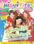 Camila Bordonaba, Felipe Colombo, Felipe Colombo and Camila Bordonaba, Romina Gaetani on the cover of Chiquititas (Argentina) - July 2000