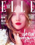 Drew Barrymore on the cover of Elle (Australia) - February 2014
