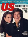 Jason Bateman on the cover of Us Magazine (United States) - November 1988