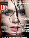 Nil Karaibrahimgil on the cover of Ankara Life (Turkey) - April 2009