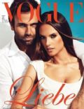 Alessandra Ambrosio, Jamie Mazur, Jamie Mazur and Alessandra Ambrosio on the cover of Vogue (Germany) - June 2011