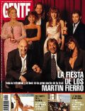 Araceli González, Fabián Vena, Facundo Arana, Florencia Peña, Mirtha Legrand, Romina Gaetani on the cover of Gente (Argentina) - July 2004