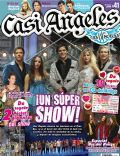 Gastón Dalmau, Juan Pedro Lanzani, María Eugenia Suárez, Mariana Espósito, Nicolas Riera on the cover of Casi Angeles (Argentina) - July 2010