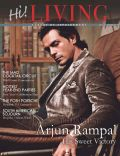 Arjun Rampal on the cover of Hi Living (India) - December 2011