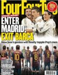 Cristiano Ronaldo, Lionel Messi on the cover of Four Four Two (United Kingdom) - March 2012