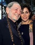 Annie DAngelo and Willie Nelson