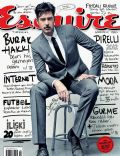 Burak Hakki on the cover of Esquire (Turkey) - October 2011